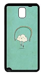 Samsung Note 3 Case Cloud Cartoons TPU Custom Samsung Note 3 Case Cover Black doudou's case wangjiang maoyi