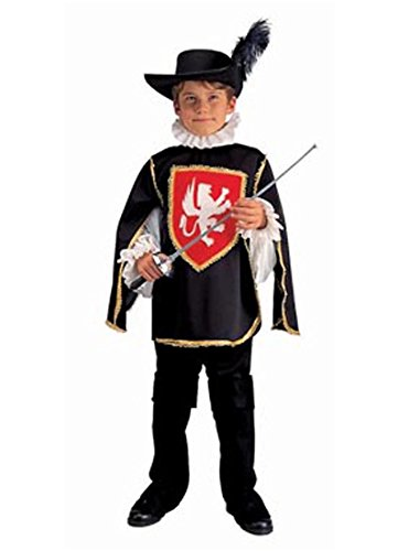 Musketeer Boy - Large, Blue Costume