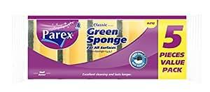 Parex Scouring Sponges Combined Classic 5Piece Set–Set of 4