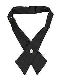 Cookie's Brand Crisscross Neck Tie - black, one size