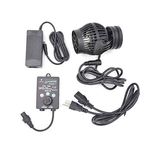 Jebao SOW Wave Maker Flow Pump with Controller for Marine Reef Aquarium (SOW-20)