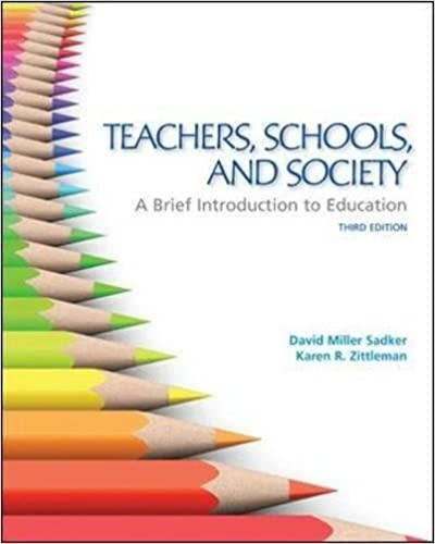 Teachers schools and society a brief introduction to education teachers schools and society a brief introduction to education 3rd edition fandeluxe Images