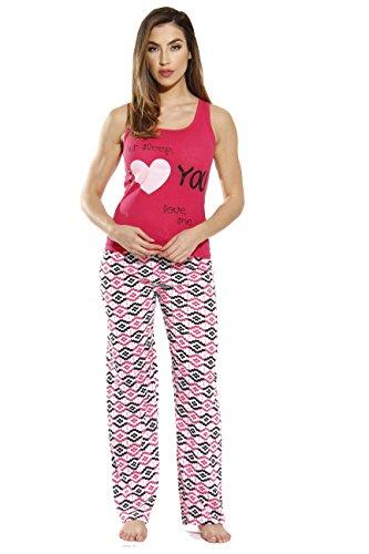 Just Love 6330-10029-L Pant Sets/Women Sleepwear/Womans Pajamas/Pjs
