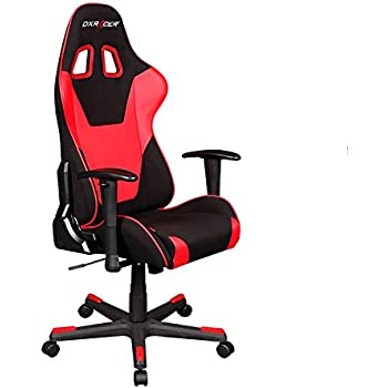 DXRacer Formula Series DOH/FD101/NR Newedge Edition Office Chair Gaming Chair Ergonomic Computer Chair eSports Desk Chair Executive Chair Furniture With Pillows (Black/Red)