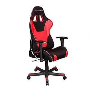 DXRacer Formula Series DOH/FD101/NR Newedge Edition Office Chair Gaming Chair Ergonomic Computer Chair eSports Desk Chair Executive Chair Furniture With Pillows (Black/Red)