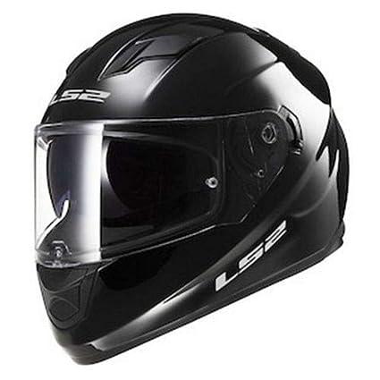 c2e3f12c237 Amazon.com: LS2 Stream Solid Full Face Motorcycle Helmet With Sunshield  (Black, X-Large): Automotive
