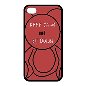 Custom Keep Calm Back case for iphone4,4S JN4S-391