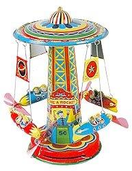 Schylling Rocket Ride Tin Collectible -