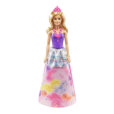 50% off los angeles separation shoes Barbie Dreamtopia poupée Arc-en-ciel coffret 3 en 1 blonde ...