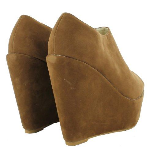 Footwear Sensation - Sandalias de vestir para mujer marrón - marrón