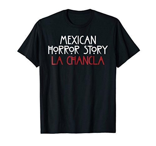 La Chancla T-Shirt Funny Mexican Halloween Novelty Gift Idea