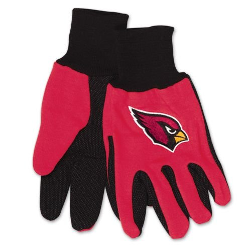 Arizona Cardinals Two Tone Gloves - Adult - Tone Gloves Two Cardinals