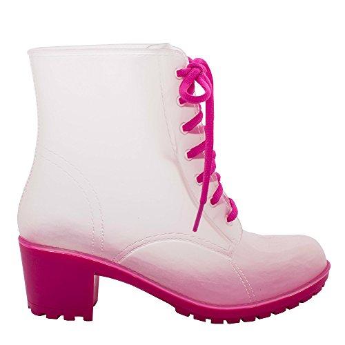 Jelly Jolly Regen Stiefel Wasserdichte Frauen 41 EU Schwarz Lace DD23-30-41 eaEaaa61