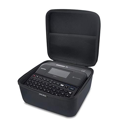 HESPLUS Shockproof Hard Case for Brother P-Touch Label Maker PTD210 / PTD600 Easy-to-use Label Maker Machine Printer & Tape