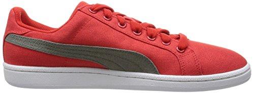 Puma - Zapatillas de Lona para hombre Rojo rojo 41 Rojo