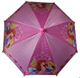 Disney Princess Girl's Purple Umbrella- 3D Handle
