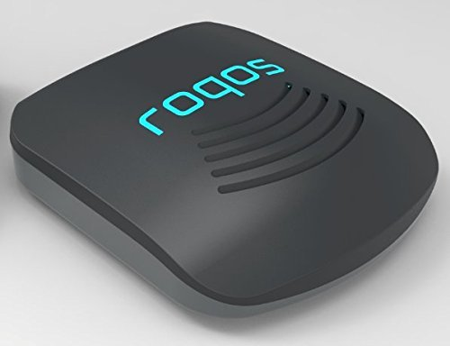 (Roqos Core VPN Router - Next Generation UTM Firewall, Intrusion Prevention, Parental/Employee Controls, WiFi - Protect Your IoT Devices from Hackers - Replace Your Router or Plug Into It - Coal )