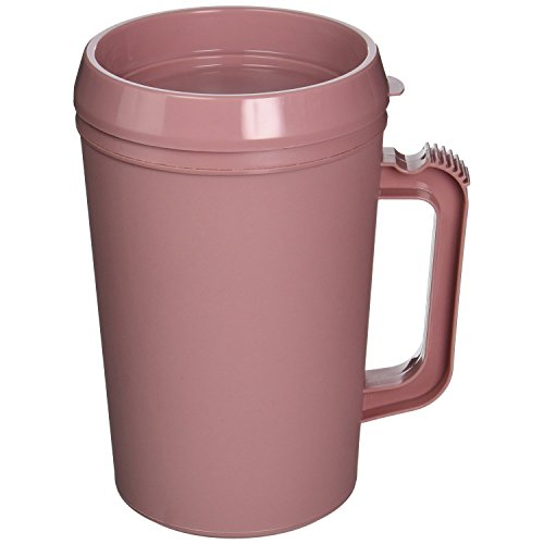 Medegen Medical Products 10906 Cover for H208-10 Insulated Pitchers, Dusty Rose (Pack of 24) by Medegen Medical Products (Image #2)