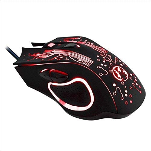 YSSWJ Ysswjzz Gaming Mouse Wired Programmable 6 Buttons Led Backlit /& 4 DPI Mode,Comfortable Grip,USB PC Gaming Mice,for Laptop Computer MAC Gamers