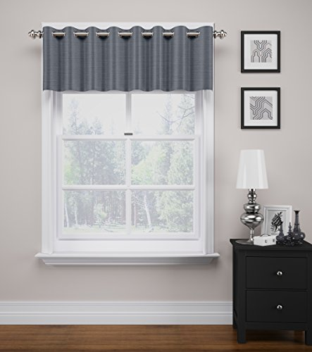 Eclipse 14906052018GRE Bryson Blackout Valance, 52' x 19', Grey