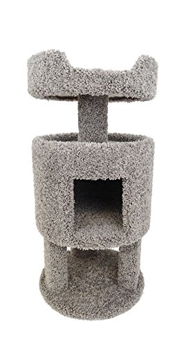 New Cat Condos Premier Contemporary Cat House, Gray by New Cat Condos