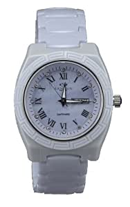 Oniss Women's Lavender Ceramic Day and Date Watch ON7701-L/LV