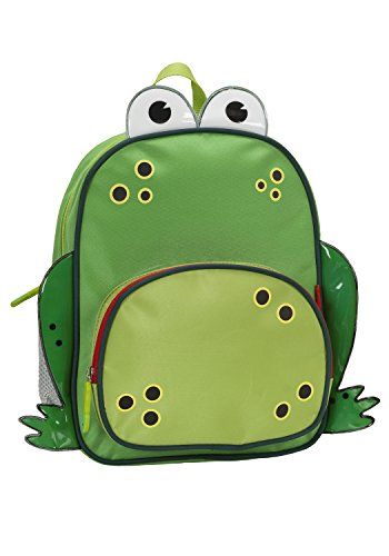 (Rockland Jr. My First Backpack, Frog, One Size)
