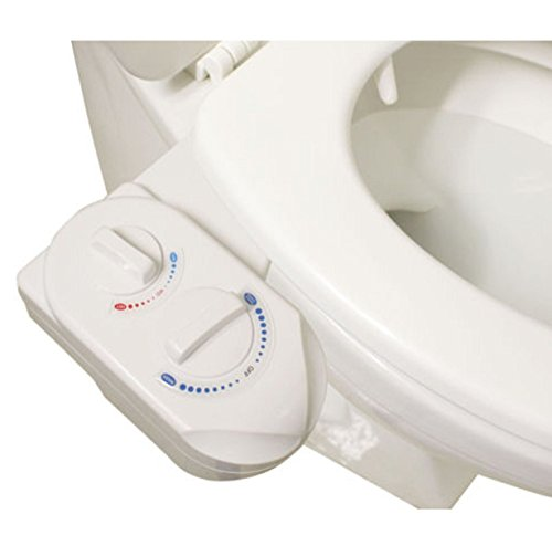 Nozzle Hot Cold Hose Washer Spray Non-Electric Kitchen Bidet Bathroom Toilet Seat