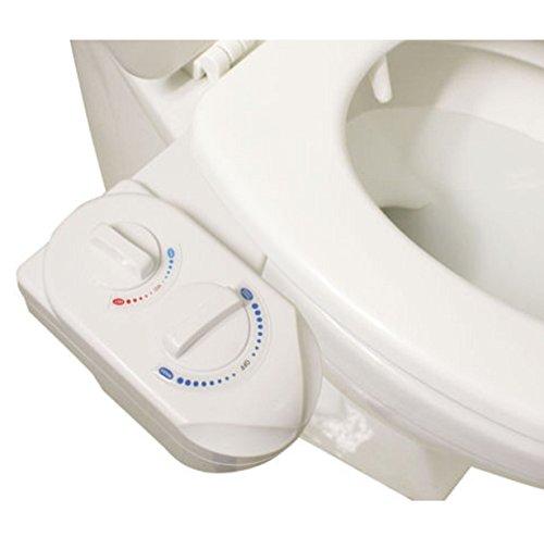 Washer Spray Non-Electric Kitchen Bidet Bathroom Toilet Seat (Foam Throat Protector)