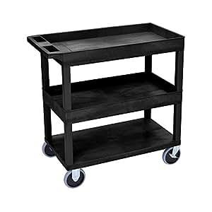 Amazon.com: offex High-Capacity 2 Bañera y 1 Flat estante ...