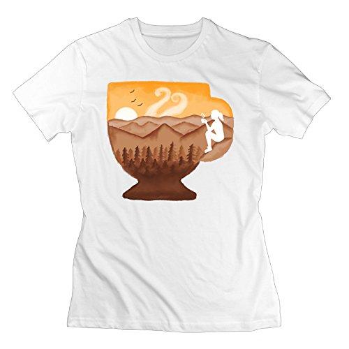Teeshirts Cup Of Coffee Woman Design