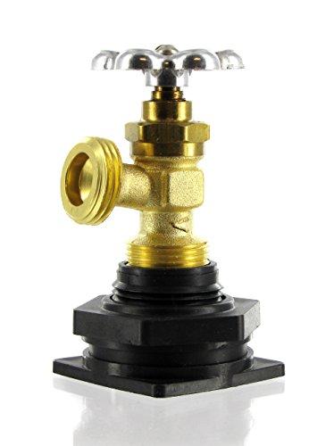 Do-It-Yourself Rain Barrel Faucet (Faucet Barrel Water Plastic)