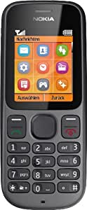 Nokia 100 Black Unlocked GSM DualBand Bar Cell Phone