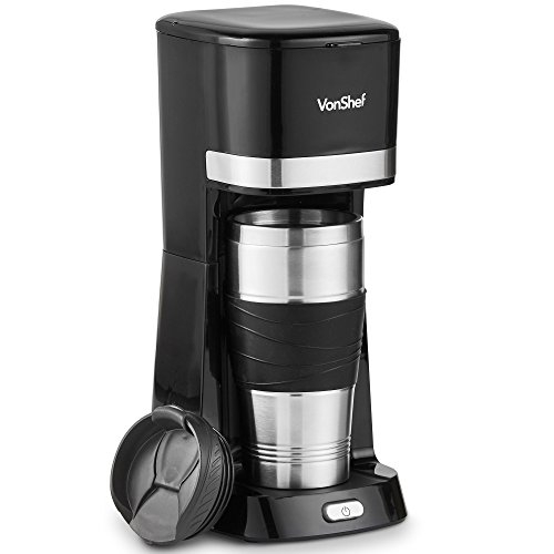 Amazoncom Vonshef Single Serve Coffee Maker 650w One Cup