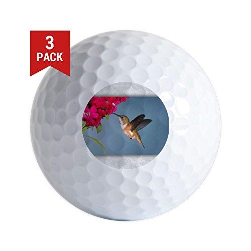 Golf Hummingbird (Golf Balls (Set of 3) Female Rufous Hummingbird)