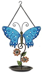 Sunset Vista Designs Butterfly Birdfeeder, 13 by 10-Inch