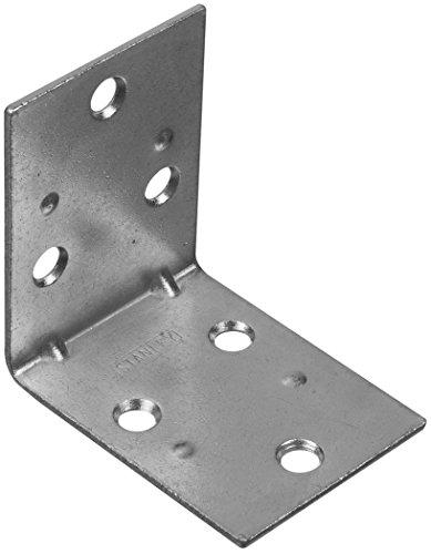 Stanley Hardware S755-685 CD994 Double Wide Corner Brace in Zinc plated, 2 pack
