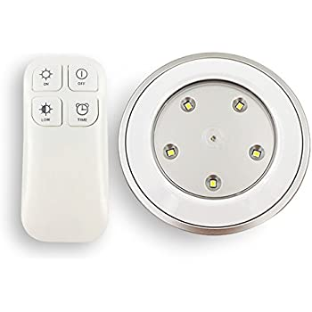 Glp0001 Led Wireless Puck Lights With Remote And