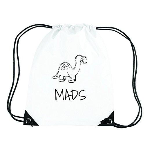 JOllipets MADS Turnbeutel Sport Tasche PGYM5682 Design: Dinosaurier Dino