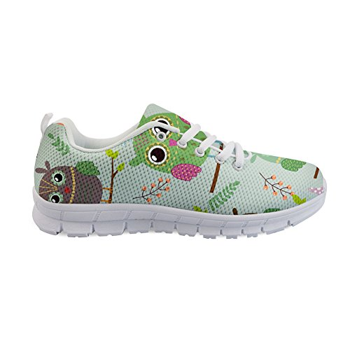 para 3 Owl Informales Mujer Coloranimal Cartoon nzTBqA8WwA
