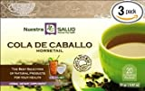 Cola De Caballo - Horsetail Herbal Filtered Tea 3 Pack