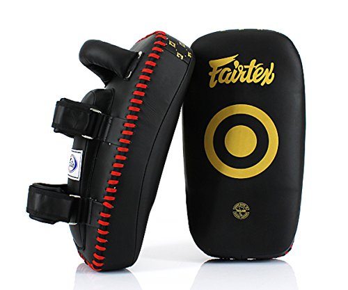 Fairtex Muay Thai Kickboxing Lightweight Thai Pads - KPLC5 - Black