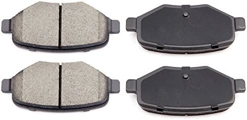 For 09 10 11 12 Lincoln 10 11 12 13 14 MKS MKT Front Ceramic Disc Brake Pads Kit