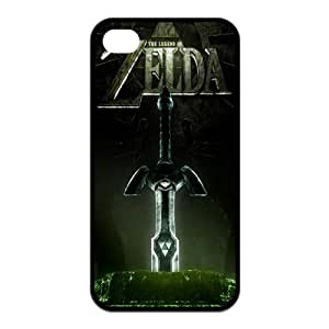 Mystic Zone Hot Online Game The Legend of Zelda Case for iPhone 4 4S Protective Cover Skin Fits Case KEK1640