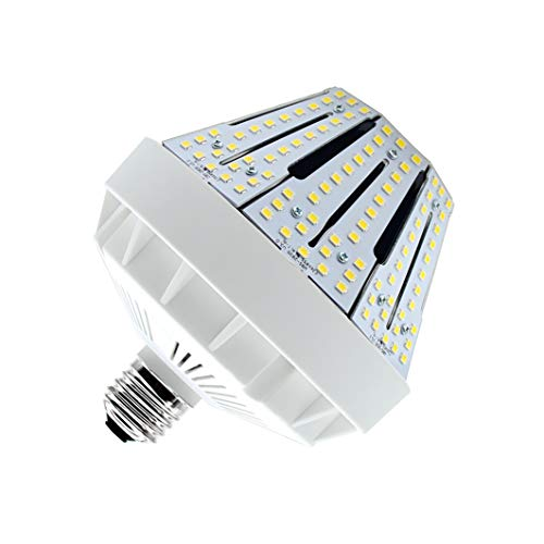 50W LED Corn Light Bulb Medium Base E26 7711 Lumen 175W Equivalent 5000K Daylight AC100-277V Metal Halide Replacement for Outdoor Indoor Area Lighting HID CFL HPS