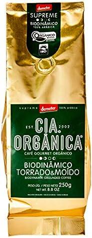 Cia Orgânica Biodinânico Gourmet Biodinâmico Torrado e Moído 250g