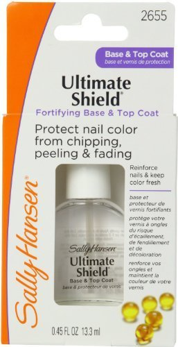 Sally Hansen Ultimate Shield Base & Top Coat 0.45 Ounce (13ml) (2 Pack)