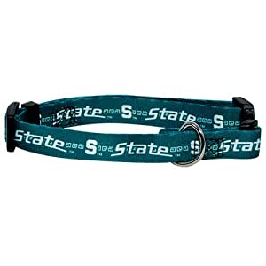 Hunter MFG Michigan State Spartans Dog Collar, Extra Small
