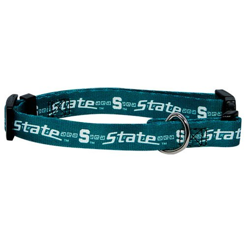 Hunter MFG Michigan State Spartans Dog Collar, Extra Small
