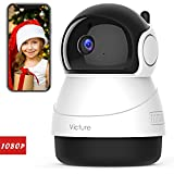 Victure 1080P FHD WiFi IP Camera Indoor Wireless Security Camera with Motion Detection Night Vision Home Surveillance Monitor with 2-Way Audio for Baby/Pet/Elder with iOS/Android